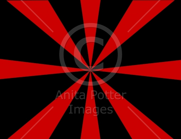 Abstract Radial Sunburst Background