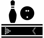 Bowling Silhouettes