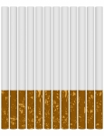 3d Render of a Set of Cigarettes