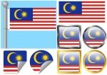 Flag Set Malaysia