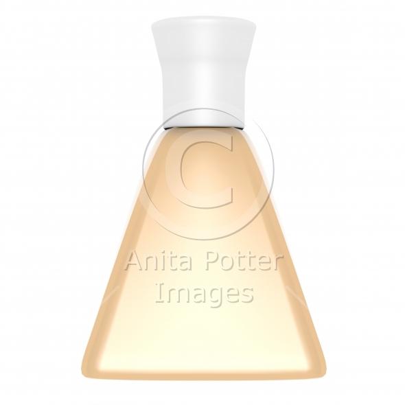 3d Render of a Foundation Bottle
