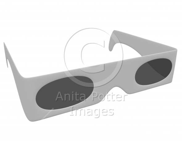 3d Render of a Pair of 3d Glasses
