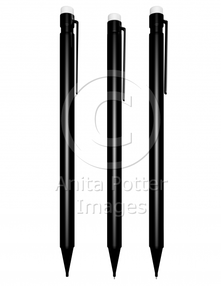 3d Render of a Mechanical Pencil Sequence